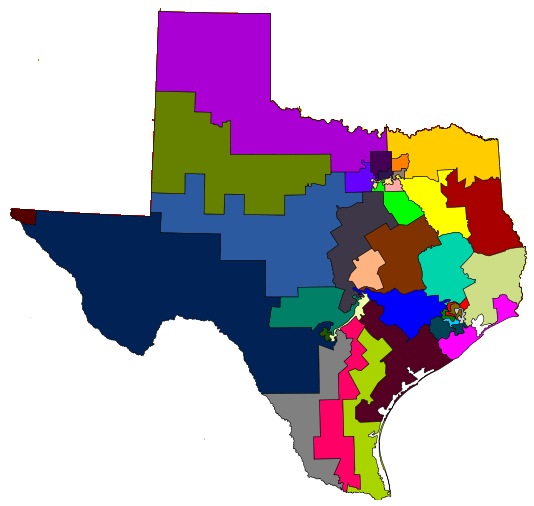 Gerrymandering is Big in Texas
