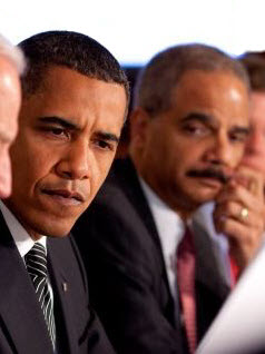 Barack Obama and Eric Holder focus on gerrymandering
